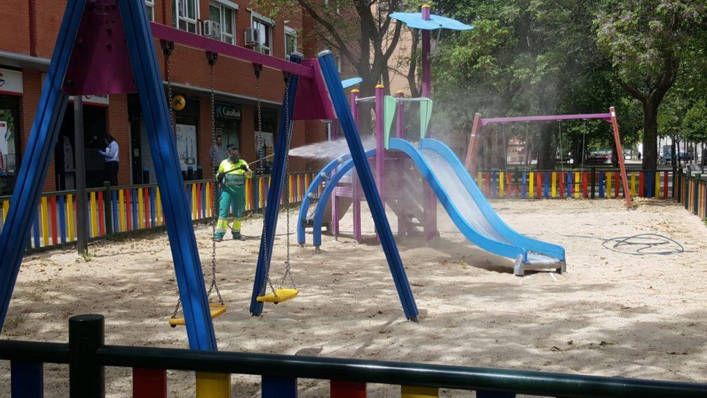 El próximo lunes se abren las áreas infantiles del municipio