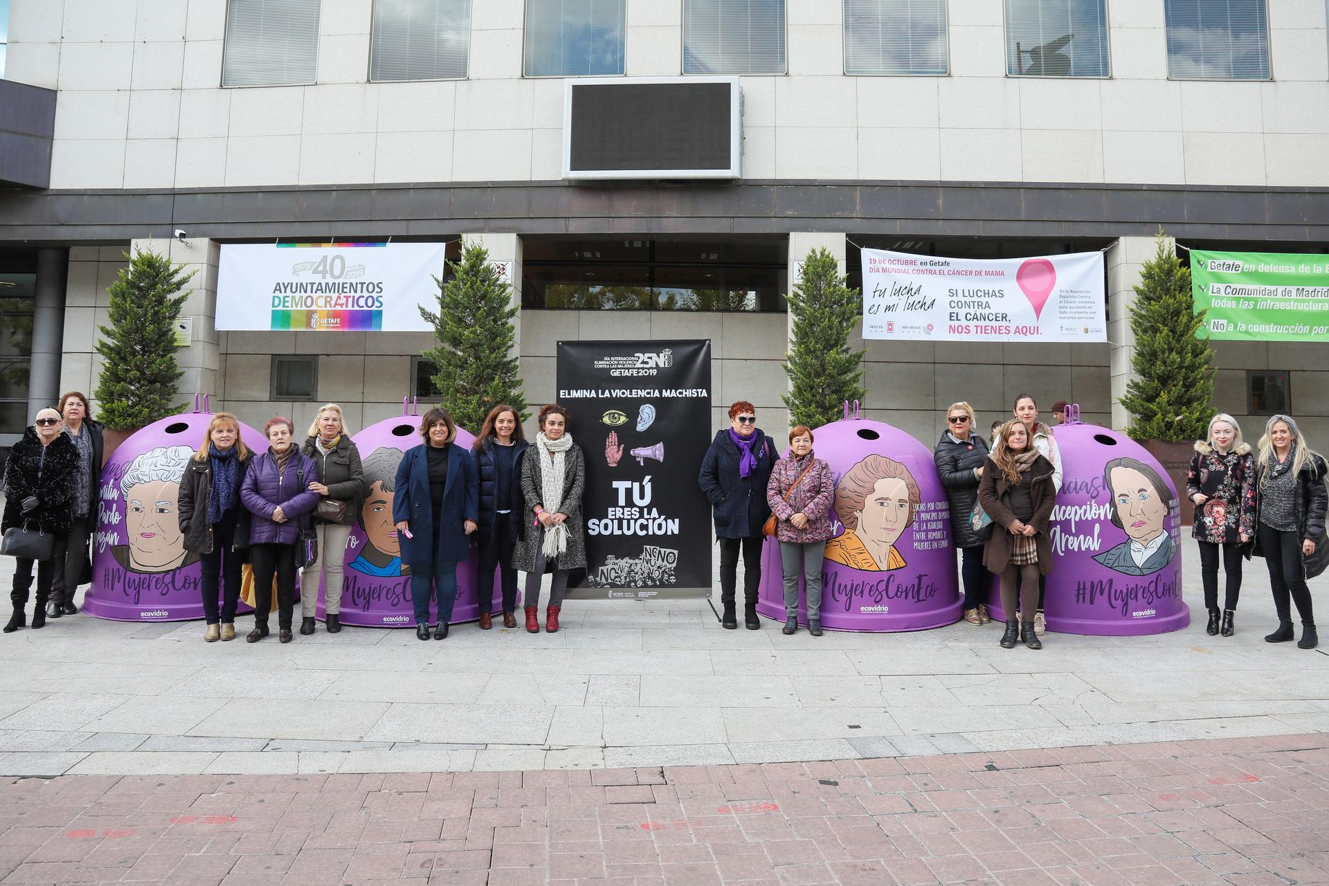 Getafe presenta su campaña por el 25N 'Elimina la violencia machista. Tú eres la solución'