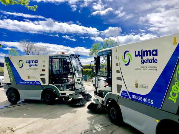 La empresa municipal de limpieza LYMA adquiere dos nuevas barredoras 100% eléctricas