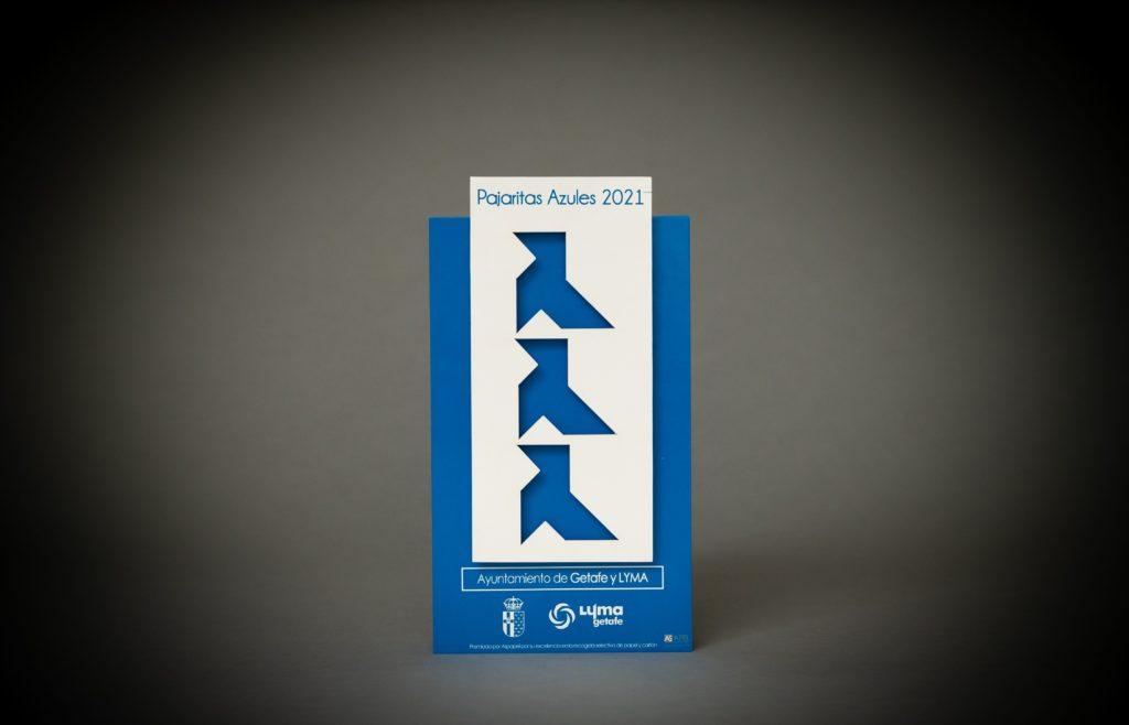 Getafe consigue un año más las 3 Pajaritas Azules por sus excelentes datos en recogida de papel y cartón
