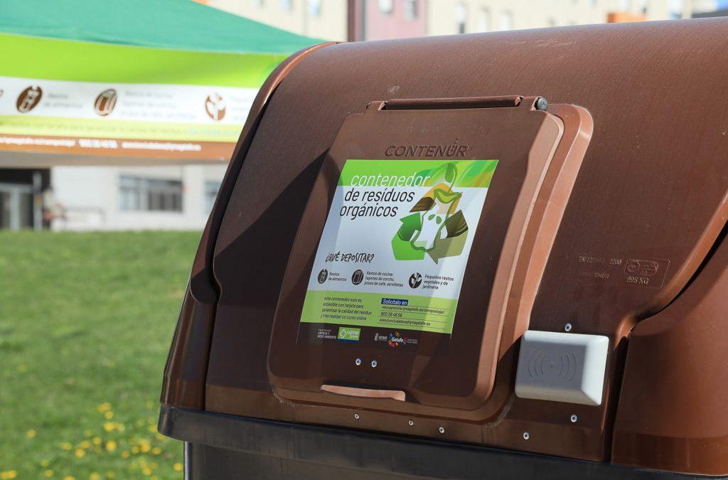 Getafe implanta el quinto contenedor con un sistema de apertura con tarjeta