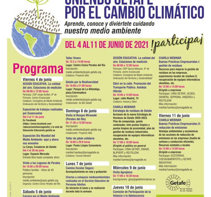 IV Semana de 'Getafe por el Medio Ambiente' para llamar la atención sobre el cambio climático